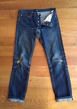 A.P.C. APC Mens PETIT STANDARD Selvedge Denim Blue Jeans 28 30 x 29 BUTLER FADES
