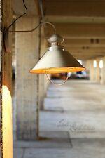 APLIQUE DE PARED INDUSTRIAL Loft E27 Lámpara Techo Blanco Cobre Retro