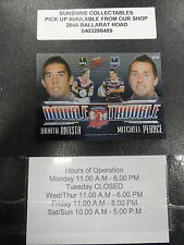 2009 NRL SELECT DOUBLE TROUBLE ROOSTERS ANASTA & PEARCE DT14