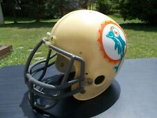 Vintage/used Riddell PAC 44 football helmet w/facemask-no padding-Miami Dolphins