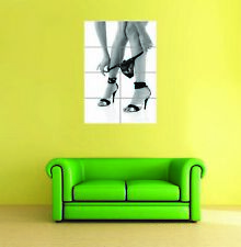 Photography Erotic Art Taking Off Underwear B&W Giant Art Print Poster