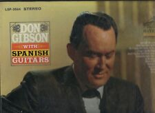 DON GIBSON - With Spanish Guitars - RCA 60s country LP NICE