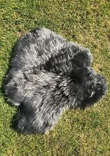Sheepskin Rug Seat Cover / Pet Bed / Comforter PLUSH Chair Pad Motorbike Cover