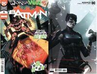 Batman #96 Main & Mattina Variant Joker War DC comic 1st Print 2020 unread NM