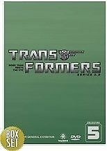 The Transformers - G1 : Series 5 (DVD, 2004, 3-Disc Set)