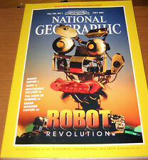 NATIONAL GEOGRAPHIC JULY 1997 ROBOT,ROMAN,SUMO,GRNDCANY