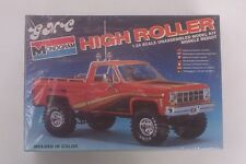 4x4 GMC Truck Lifted HIGH ROLLER Monogram FACTORY SEALED 1:24 Pickup Model Kit