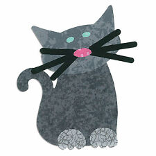 Sizzix Cat Bigz L die #658097 Retail $29.99 SWEET FUN Great for Applique!!