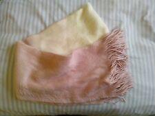 Femme Rose/Blanc écharpe taille unique