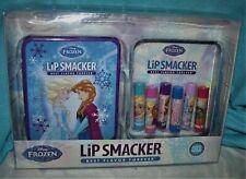 LIP SMACKER* 7pc Balm/Gloss Set DISNEY FROZEN Collectible Tin Case COLLECTION