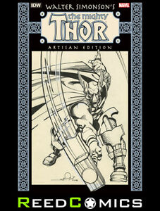 WALTER SIMONSON MIGHTY THOR ARTISAN EDITION GRAPHIC NOVEL (176 Pages) Paperback