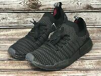 Adidas NMD R1 STLT Primeknit BoostTriple Black Sneakers CQ2391 Men Size 8.5 NEW!