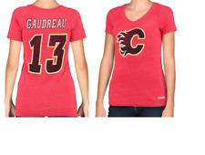 CCM NHL Calgary Flames #13 Hockey Shirt New Womens 2XL