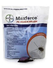 72 Count Bag Maxforce FC Cockroach German Roach Control Bait Stations ~  Pest