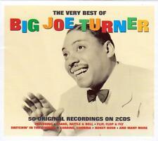 BIG JOE TURNER - THE VERY BEST OF - 50 ORIGINAL RECORDINGS (NEW SEALED 2CD)