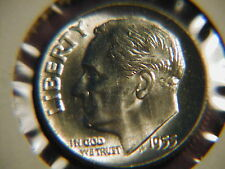 1955  Roosevelt Dime BU uncirculated gem!