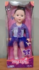 "Madame Alexander 18"" inch  Doll My Life as a Ballerina Brown Hair and Blue Eyes"