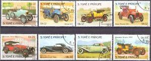 Sao Tome´und Principe, 1983, Autos. MiNr. 852-849A gest.