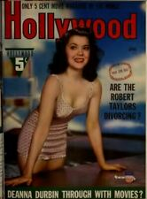 Hollywood Magazine 1934 - 1943 HUGE Collection  In PDF On DVD  L@@K