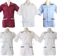 MENS NURSE MENS BOYS SCRUB UNIFORM MEDICAL HOSPITAL TUNIC TOP MALE FANCY DRESS