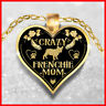 FRENCHIE NECKLACE, FRENCH BULLDOG JEWELRY, FRENCHIE PENDANTS