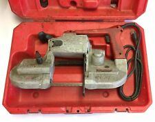 Milwaukee 6230 Heavy Duty Band Saw Withcase Variable Speed 0 350 Fpm 120vac 6a
