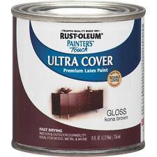 RustOleum Kona Brown Latex Paint