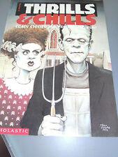 Spooky Fun Scholastic Thrills & Chills Issue #2 1994 Unused Rare Find