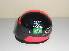 Emerson Fittipaldi Hand Signed 1/2 Scale Helmet 1974 McLaren Very Rare.