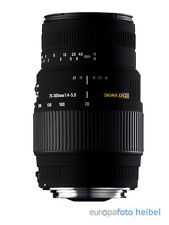 Sigma 70-300 DG Makro f. Nikon Objektiv für D3100 D3200 D5100 D5200 D7000 D7100