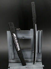 1/5 1:5 Metal Gear rising Raiden JACK sword katana weapon Metal  22cm with stand