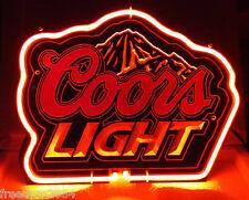 SB347Coors Light Mountain Beer Room Decor Display Neon Light Sign 11x8 New C