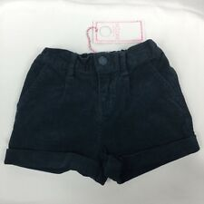 Baby Girl's Pumpkin Patch Corduroy Teal Shorts Size 1 (12-18m) NWT RRP $32.99