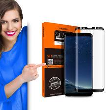 Spigen GLAStR Full Cover Glas (Schwarz) passend für Samsung Galaxy S8 Schutzglas