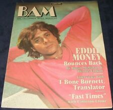 BAM magazine August 27 1982  #137  Eddie Money Fast Times  Cameron Crowe T-Bone