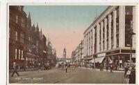 High Street Belfast Vintage Postcard 319a