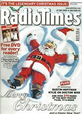 Radio Times Christmas Double Issue 22 December 2007 - 4 January 2008 Doctor Who
