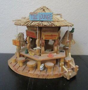 Tiki Lounge Birdhouse Unique
