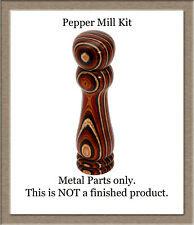 "Peppermill or Salt Mill Pepper Grinder Woodturning Kit Variable Length 4"" To 12"""