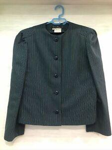 Salvatore Ferragamo Firenze Jacket 100% wool zise 44 Made In Italy Vintage