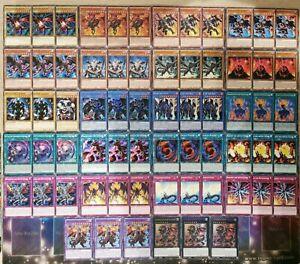 ROTÄUGIGER DRACHE/RED-EYES DECK/SET/CORE-Stein,Leuchtfeuer,Ritual,Rots Yu-Gi-Oh