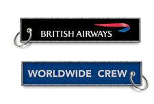 British Airways-Worldwide Crew keychains x2
