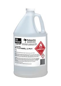 Palmetto Supplies 200 Proof Ethanol, USP-Grade-1 Gallon