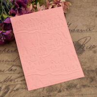 house Embossing folders Plastic Embossing Folder For Scrapbooking DIY card ZR