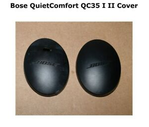 Bose QuietComfort QC35 I II Outside Metal Cover Housing Left / Right Black Parts