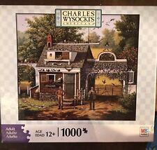 Charles Wysocki Americana Pigeon Pals 1000 Piece Puzzle Milton Bradley 2008