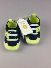 Gymboree Crib Shoes Size 01 Lightning Bolt NWT