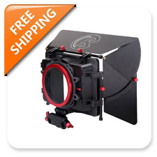 Kamerar Video Matte Box MAX-1 W/Donut for 15mm Rod DSLR Rig Sunshade Hood