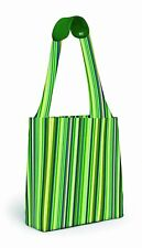 BUILT NY Reusable Shopper, Emerald Stripe