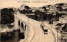 CPA MARSEILLE Pont de la Fausse Monnaie (404946)
